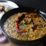 Hariyali Dal Amritsari (A delicious Lentil accompaniment with leafy greens)