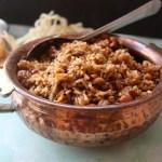 Tamarind Rice/Puli Chaadam/Puliogare/Pulihora