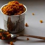 Kara Boondi (Spiced Gram Flour Pearls Trail Mix)