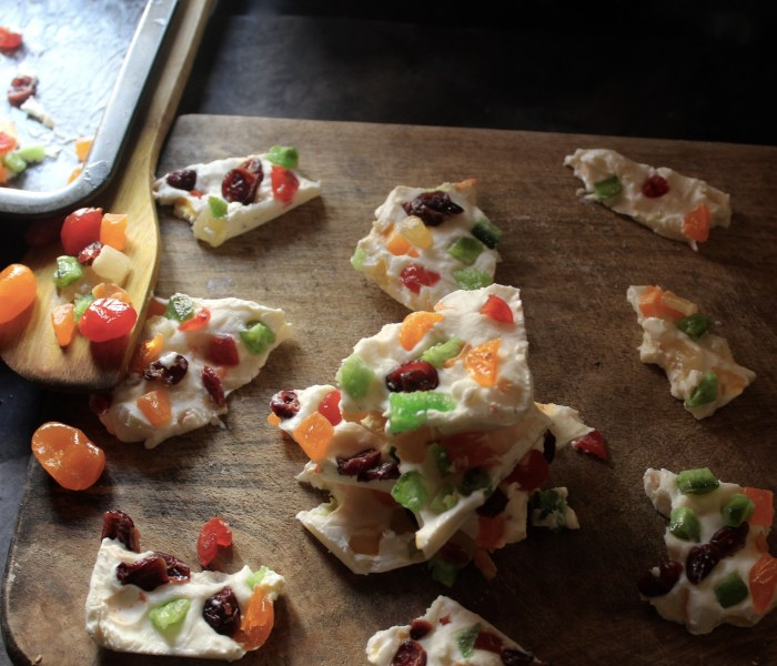 Yogurt Fruit Bark