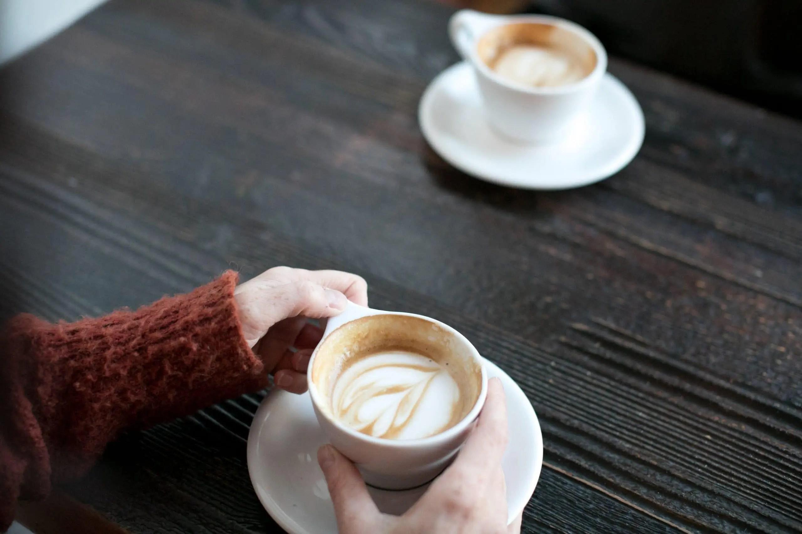 cafe au lait digestion