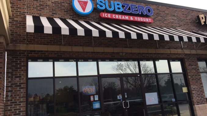 Sub Zero Ice Cream restaurant