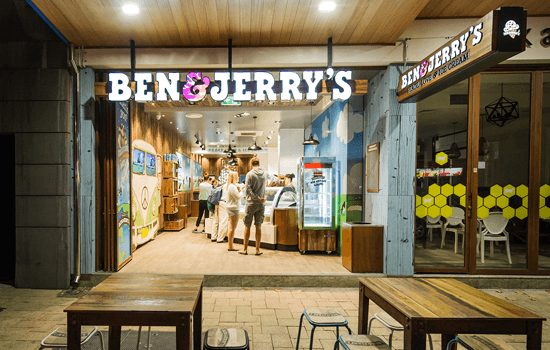 Ben & Jerry's franchise