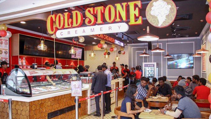 Outlet of Cold Stone Creamery Franchise