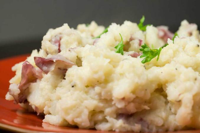 Garlic Mashed Red Potatoes Recipe