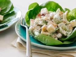 Waldorf Salad with Yogurt