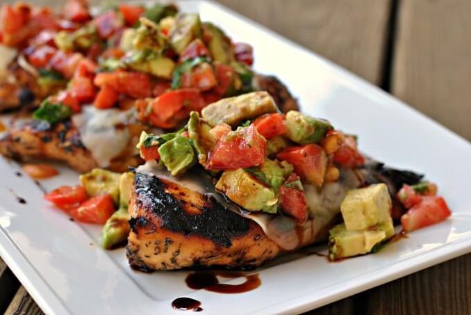 California Grilled Chicken recipe
