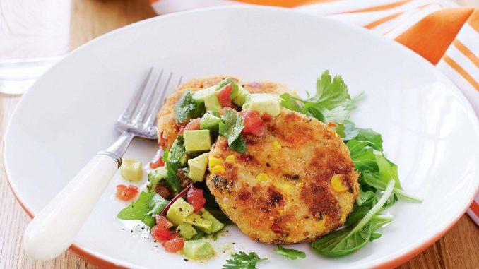 Corn Nuggets Salmon Stir Fry Recipe