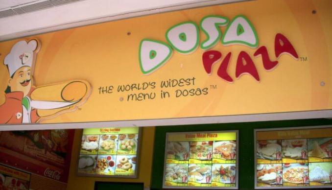 Dosa Plaza franchise
