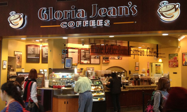 Gloria Jean's Coffee franchise