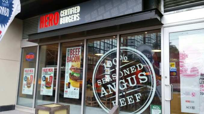 Hero Certified Burger franchise