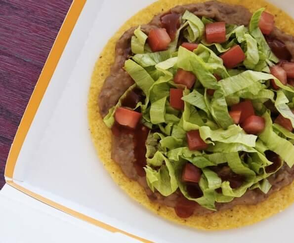 Taco Bell Tostada recipe