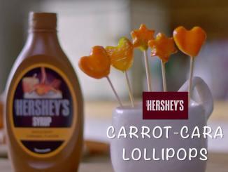 Carrot Cara Lollipop recipe