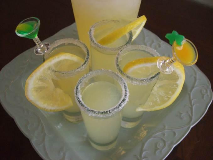 Lemon Drop Shots Recipe