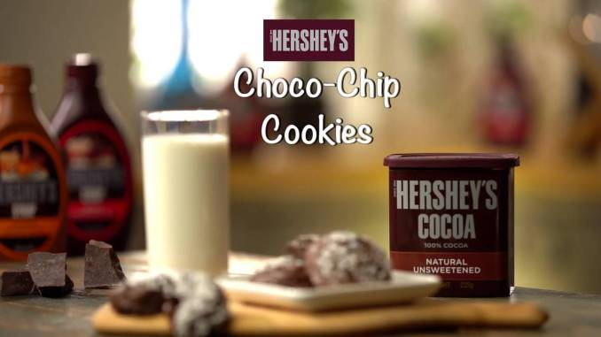 Choco Chip Cookies Recipe | Hershey's Special - TheFoodXP