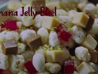 Makhana Jelly Bhel recipe