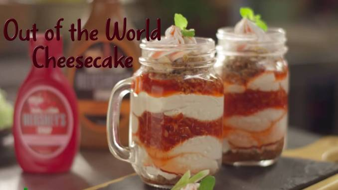 Out of the World Cheesecake Recipe