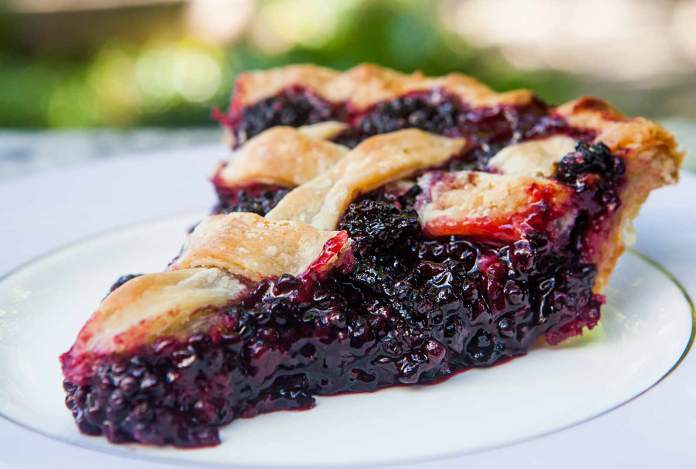 Black Raspberry Pie recipe