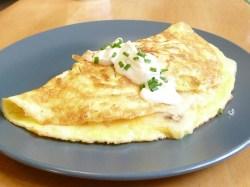 Shrimp Omelette recipe