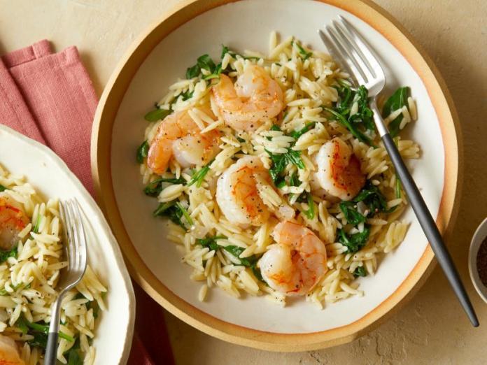 Baby Shrimp Scampi recipe