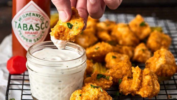 Chicken Poppers recipe