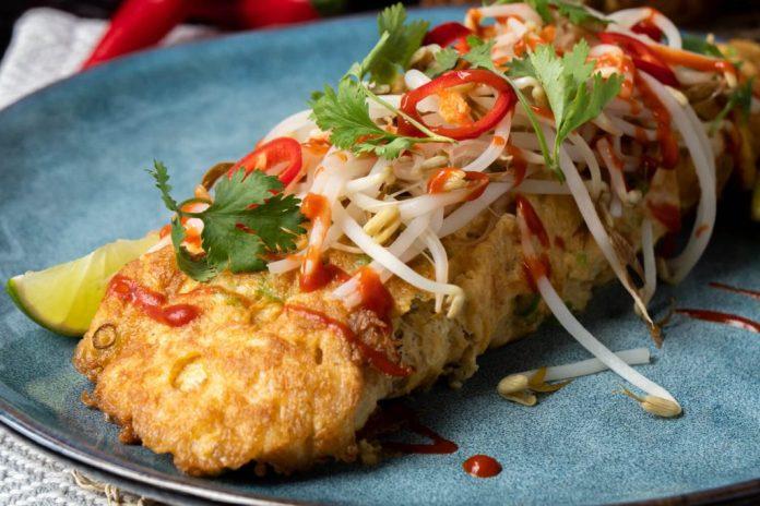Crab Omelette
