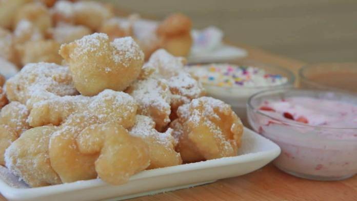 Funnel Cake Bites recipe