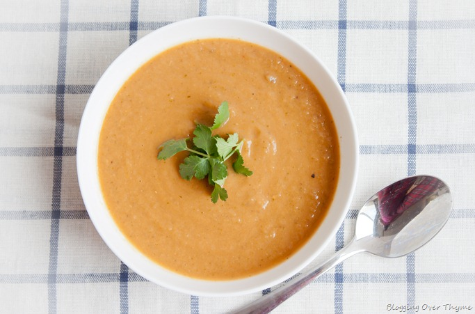 Aubergine Soup recipe
