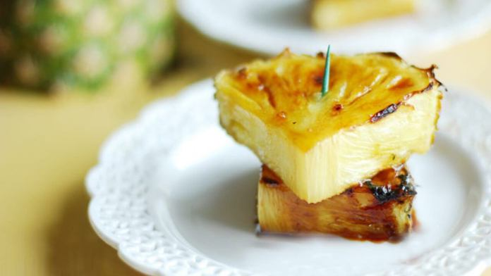 Broiled Pineapples