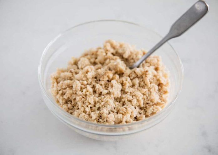 Crumble Topping recipe