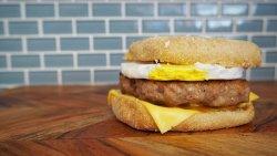 Mcdonald's Sausage and Egg McMuffin recipe