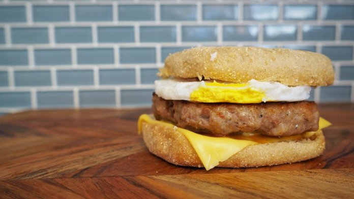 Mcdonald's Sausage and Egg McMuffin recipe