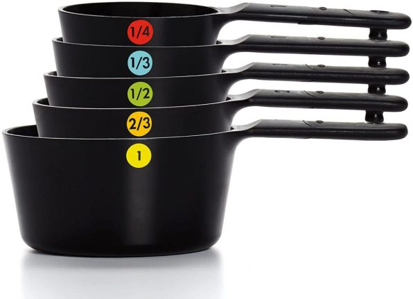 OXO Good Grips 6- Piece Plastic Measuring Cups