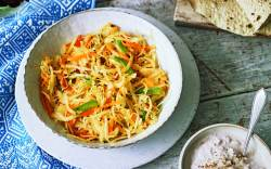 Cabbage and Carrot Slaw recipe