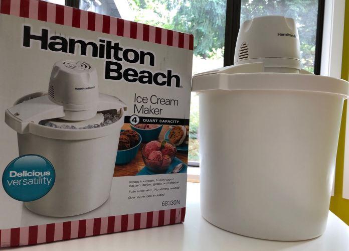 Hamilton Beach 4-Quart Capacity Ice Cream Maker
