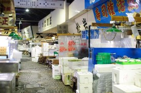 Reencuentros: Tsukiji fish market closed (築地市場) 28/01/2009