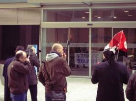 Manifestación solidaridad trabajadores Capgemini #capretalladacap #capgemini