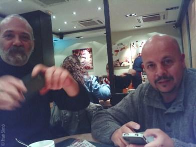 Marcelo Aurelio y Rafa Perez Proceso: Superia 200