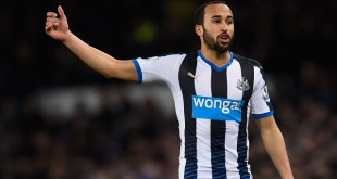 Andros Townsend at Newcastle