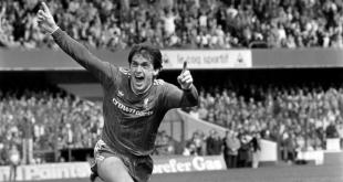 Kenny Dalglish in his prime for Liverpool