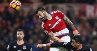 Everton and Middlesbrough play out a 0-0 draw