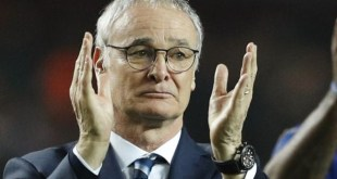 Leicester City boss Claudio Ranieri