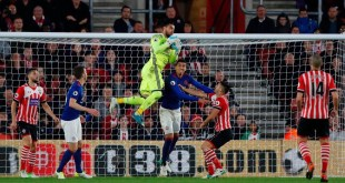 Sergio Romero against Southamptom