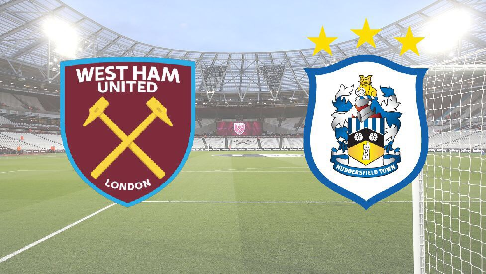 Image result for West Ham United vs Huddersfield Town