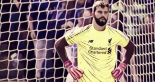 Liverpool goalkeeper Alisson Becker