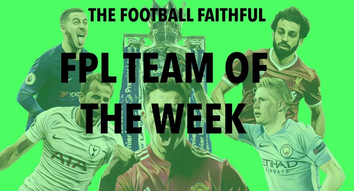 Fantasy Premier League Team of the Week: Gameweek 12