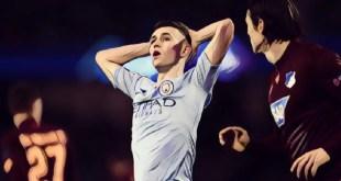 Man City midfielder Phil Foden