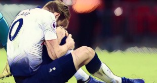 Harry Kane injury v Manchester United
