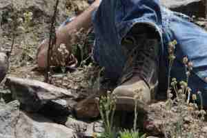 how to get the smell out of work boots