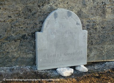 memorial to skyfall's ghillie